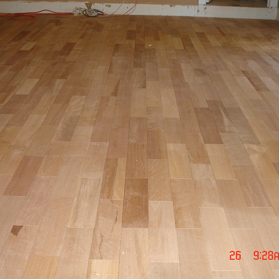 Wood floor installation on january 28 2016 us hardwood Wood floor installer